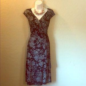 Ann Taylor Loft Wrap Dress Size 4